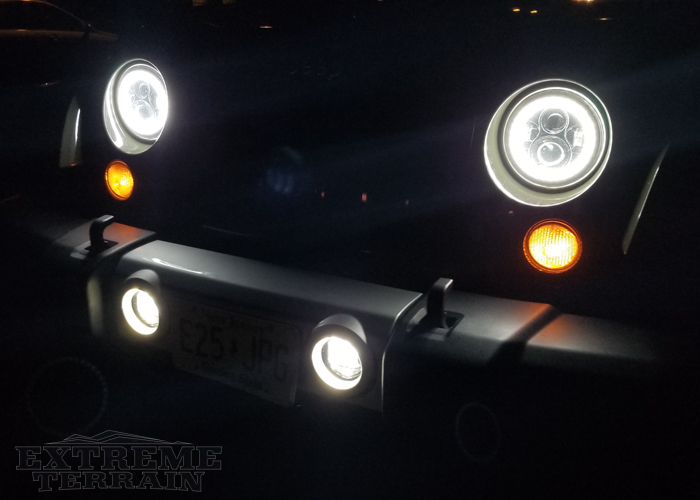 JK with LED Headlights