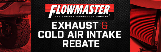 Flowmaster Exhaust and Cold Air Intake Rebate