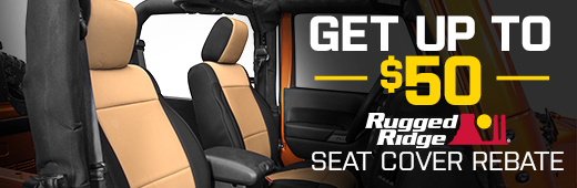 Rugged Ridge Seat Cover Rebate