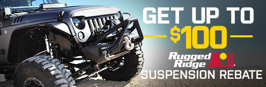 Rugged Ridge Suspension Rebate