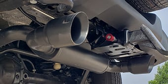 Axle-Back Exhaust