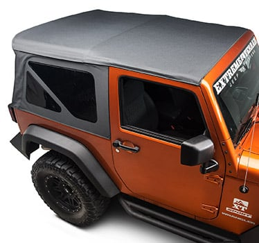 Jeep Wrangler Relocation Mirrors