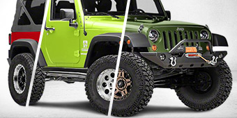 Build a JK Wheel/Tire Kit