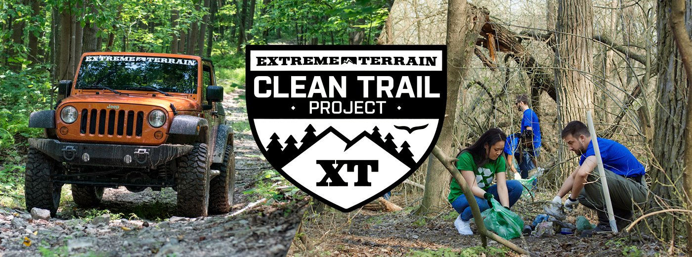ExtremeTerrain Clean Trail Grant Program