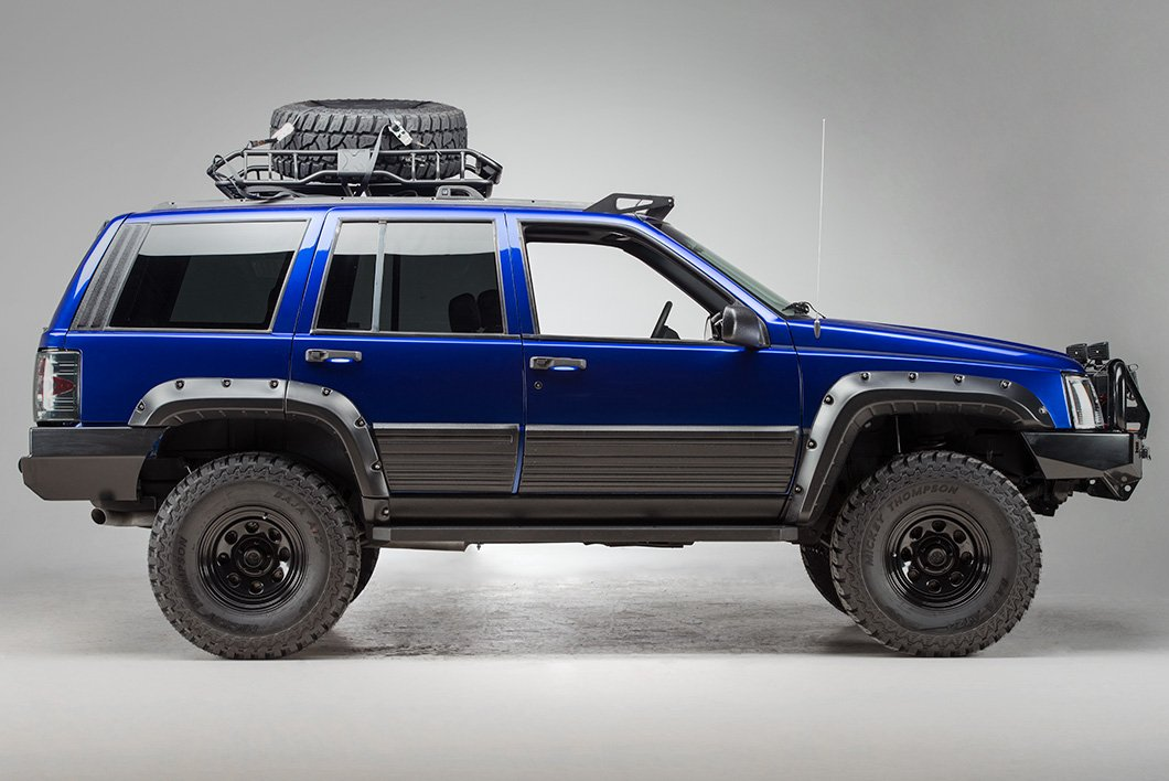 A Make-A-Wish Dream Come True: Lucas's Grand Cherokee ...