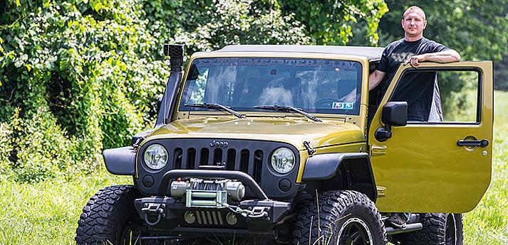 Dave D s Rescue Green Metallic 2007 Jeep Wrangler JKU