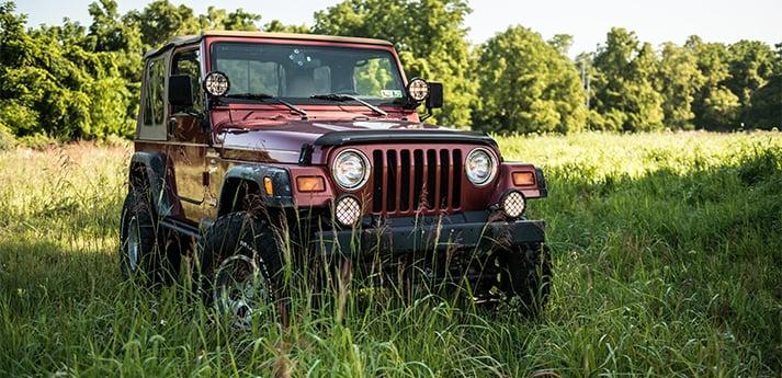 Ryan H's Chili Pepper Red 1998 Jeep Wrangler TJ | ExtremeTerrain