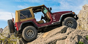 1998 Jeep Wrangler TJ Build - 35 Inch Tires, 4.5 Inch Lift Kit, Track Bar, Corbeau Seats