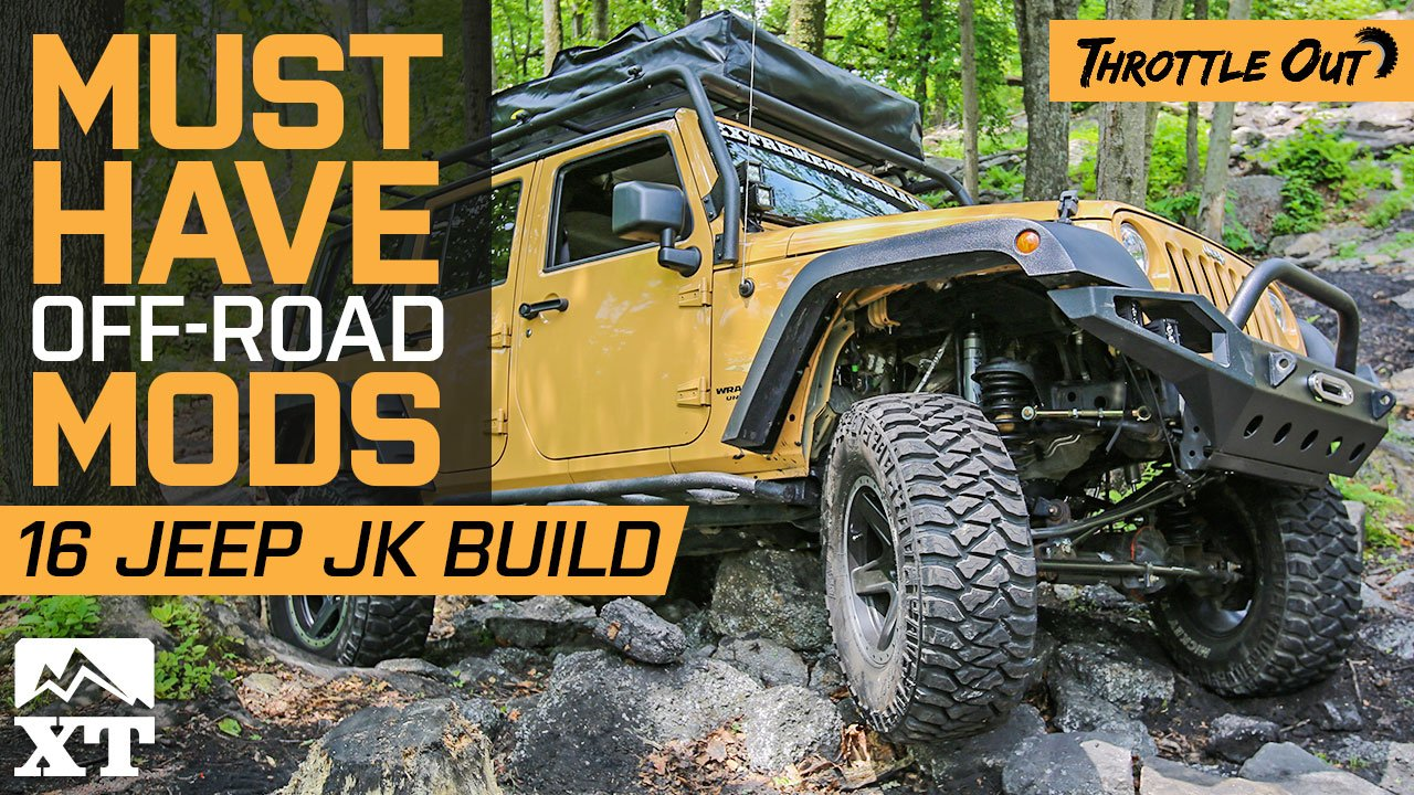 2016 Jeep Wrangler JK Sahara Build Goes Off Roading at Rausch Creek