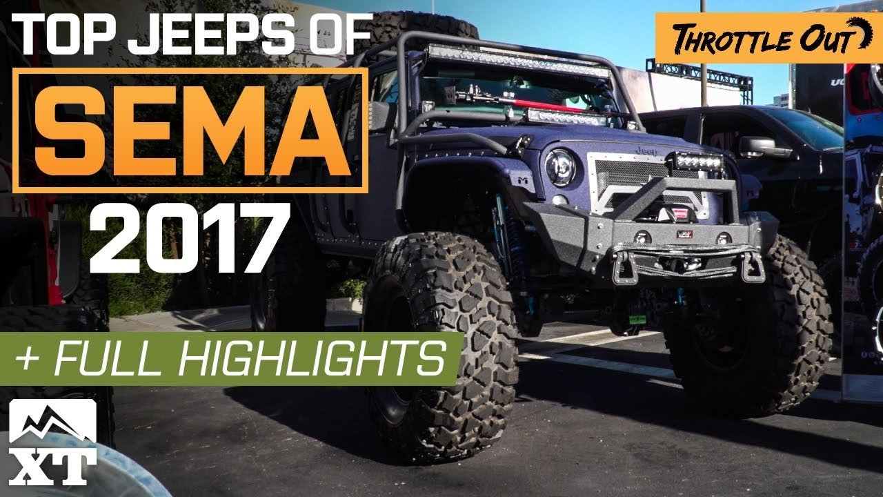 Top Jeep Wrangler Builds Of SEMA 2017 & Full Event Coverage