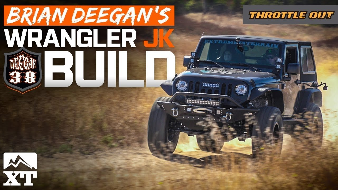 "Building Brian Deegan's Badass 2017 Jeep Wrangler Rubicon – Deegan38 Armor, 4"" Lift Kit, 37"" Tires"
