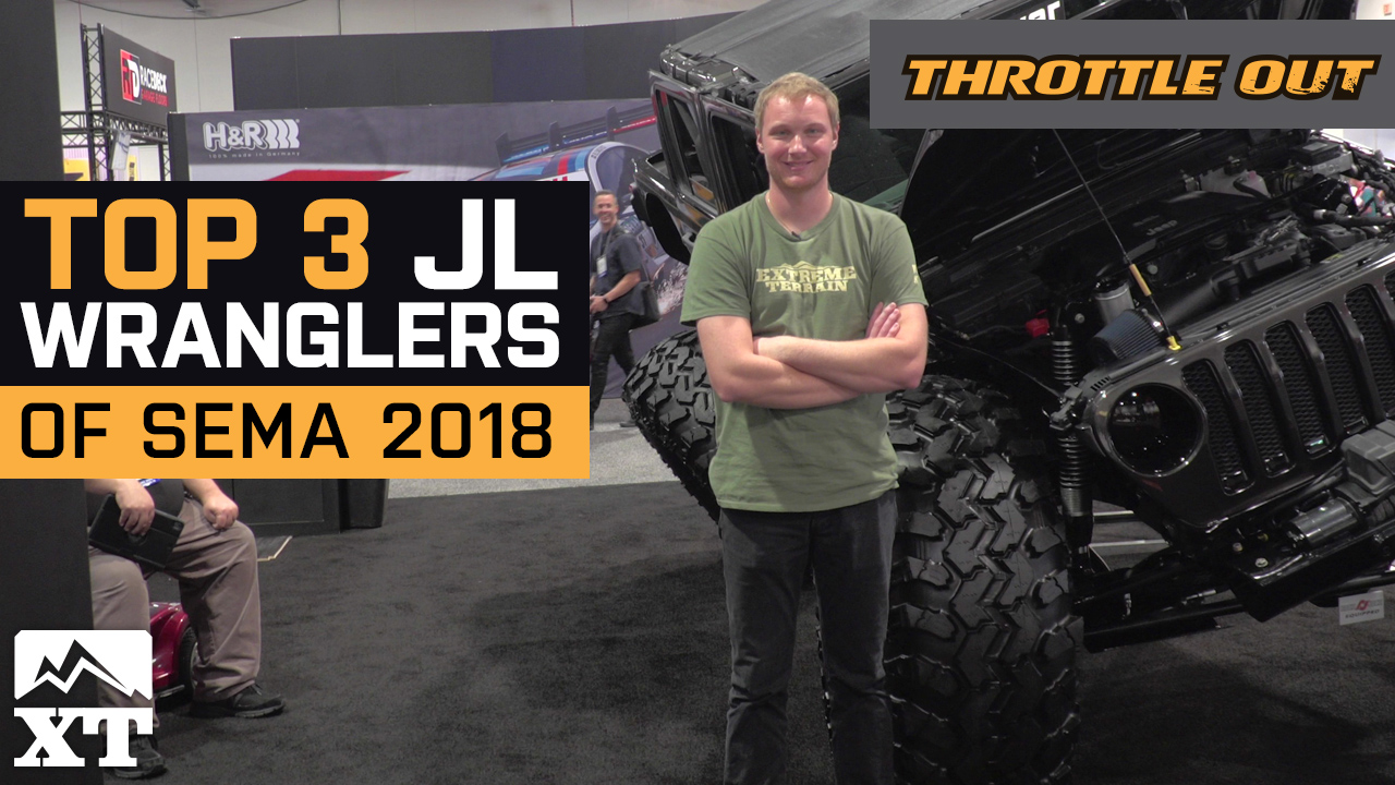 SEMA 2018 –The Top 3 Jeep Wrangler JLs At SEMA 2018