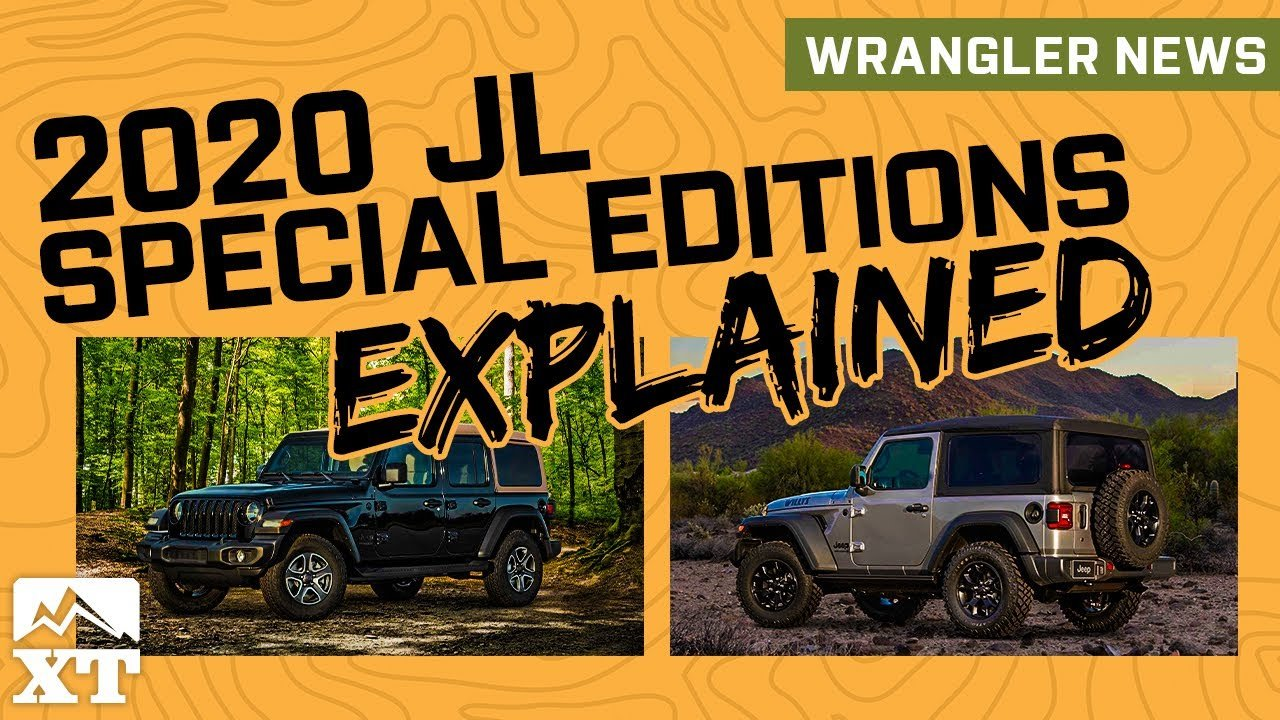 2020 Jeep Wrangler Willys and Black and Tan Edition Jeep Revealed + JL Powertrain Updates - Jeep News