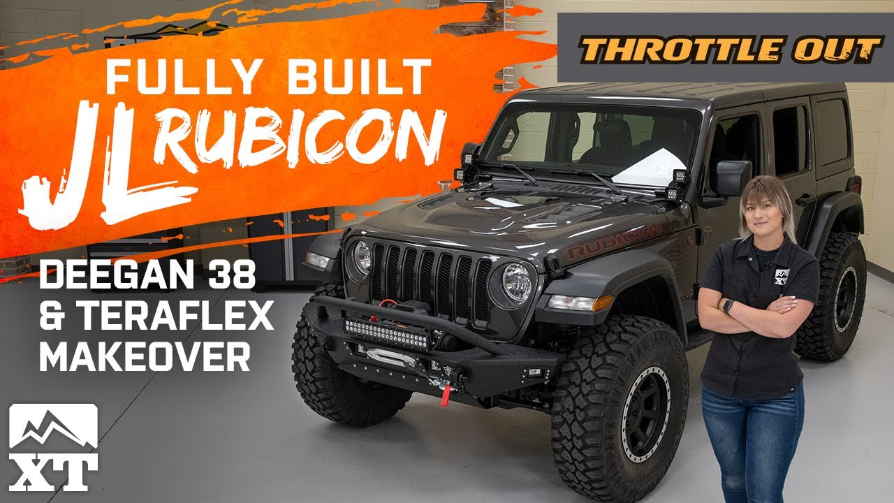 JL Rubicon Gets Fully Built With Deegan38 & Teraflex Parts - Throttle Out